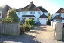 3 bed semi detached house for sale in Kings Drive, EASTBOURNE