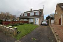 semi detached house in Chaucer Road, Bletchley...