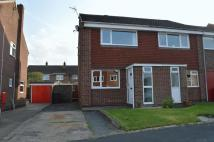 2 bedroom semi detached property in Highfields Close...