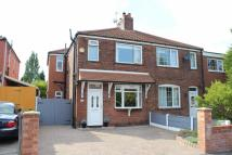 3 bedroom semi detached property for sale in Briarfield Road...