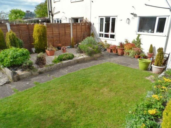 Rear View Garden