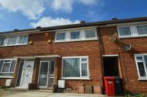 Terraced house in Thompson Close, Langley...