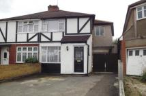 Addlestone semi detached house for sale