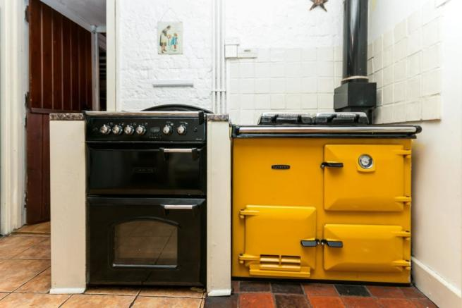Rayburn and Cooker