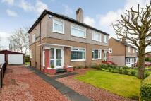 3 bed semi detached property in Cruachan Road, Bearsden...