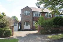 3 bed semi detached home for sale in Thornton Avenue...