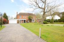 Detached house in Barnfield Wood Road...