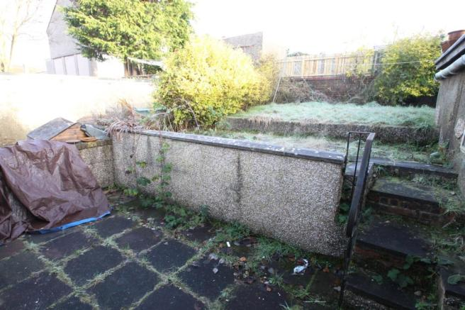 Rear garden/patio