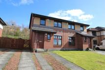 semi detached home for sale in Downcraig Road, Glasgow...