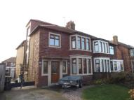 semi detached house in Rossall Grange Lane...