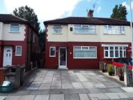 semi detached house for sale in Beech Grove, Bootle...