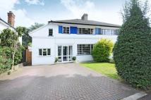 semi detached house in Esher, Surrey