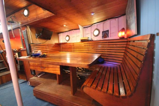 Cabin seating area
