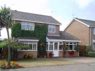Detached home in Rogers Close, Hopton...