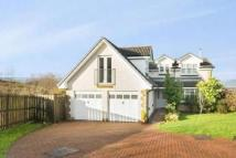 Detached house in Knockdhu Place, Gourock...