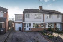 4 bed semi detached home for sale in Hathern Close...
