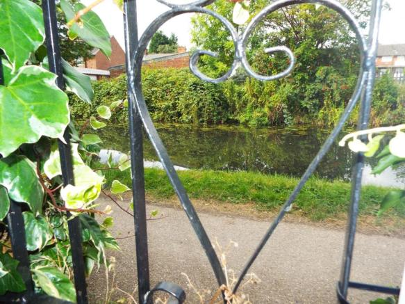 View via gate at rea