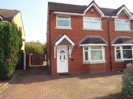 semi detached house in Satinwood Crescent...