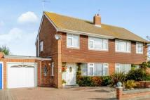 3 bedroom semi detached property in Sycamore Close, Lydd...