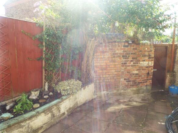 rear yard/garden