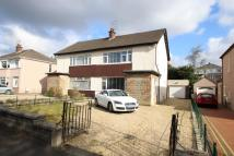 semi detached property for sale in Golf Drive, Paisley...