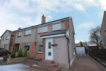 semi detached home for sale in Crummock Gardens, Beith...