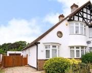 semi detached property in The Fairway, Bickley...
