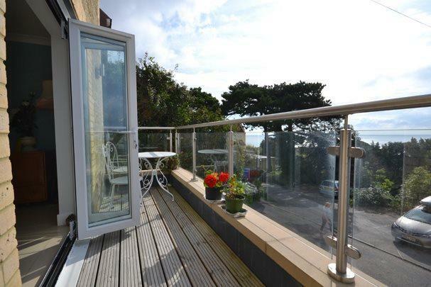 Balcony (off of dini