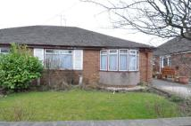 Westway Semi-Detached Bungalow for sale
