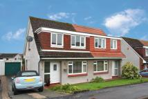 3 bed Semi-detached Villa in 6 Cowal Crescent...