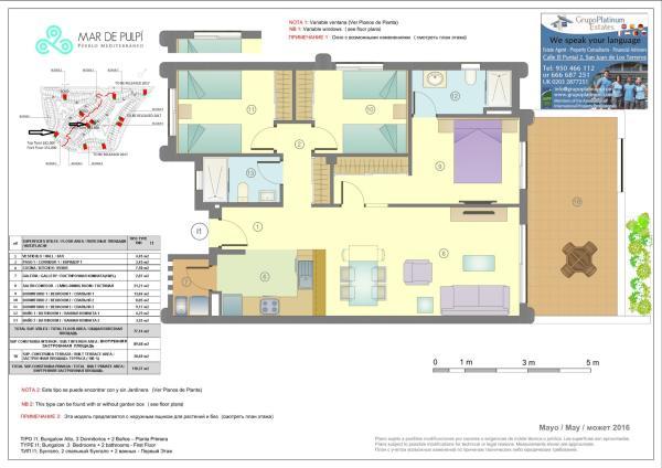Plan 3 bedrooms