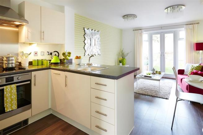 Images shows Belford show home, Jubilee Gardens, TW Midlands