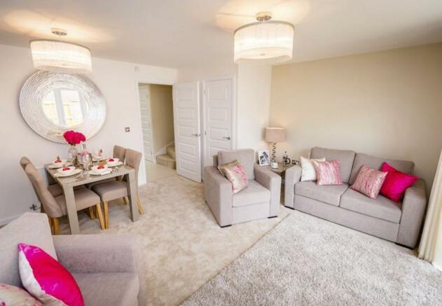 Typical Barwick lounge