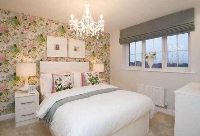 Typical Tetbury second bedroom