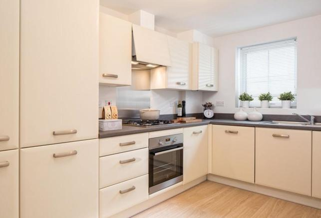 Typical Barwick fitted kitchen