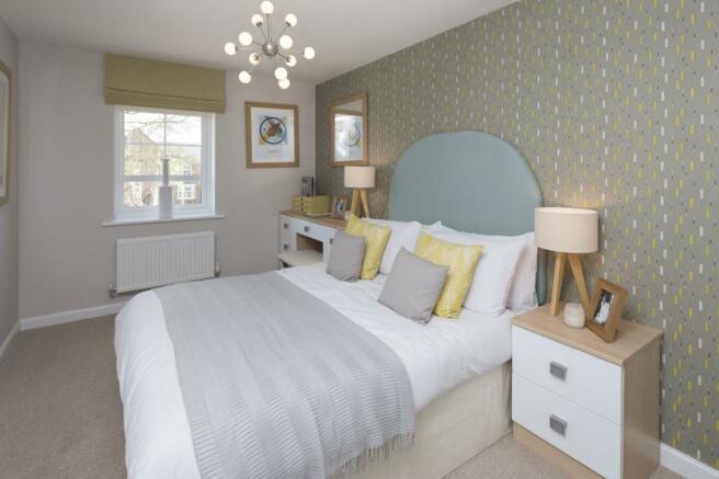 Typical Tavistock second bedroom