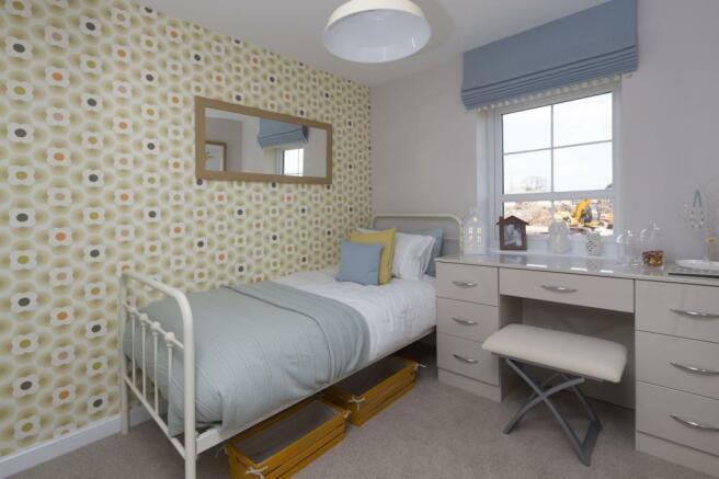 Typical Tavistock third bedroom