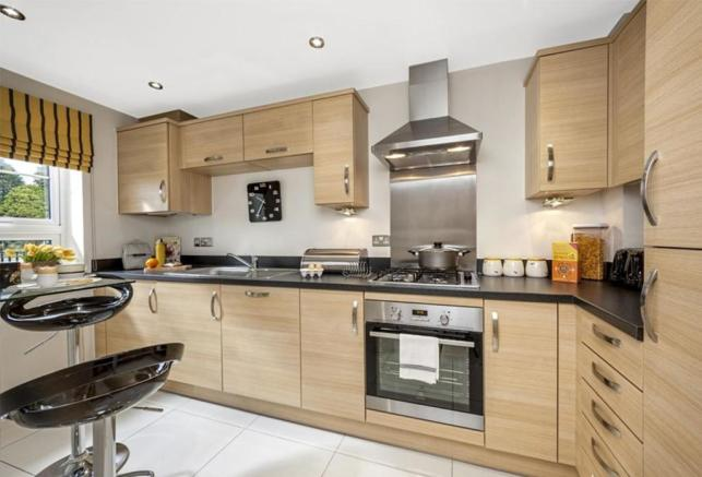 Typical Padstow fitted kitchen