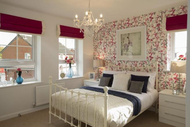 Typical Morpeth bedroom