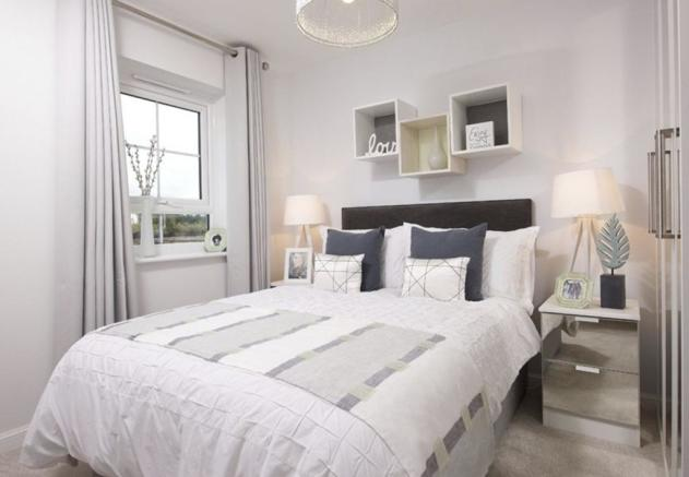 Typical Finchley second bedroom