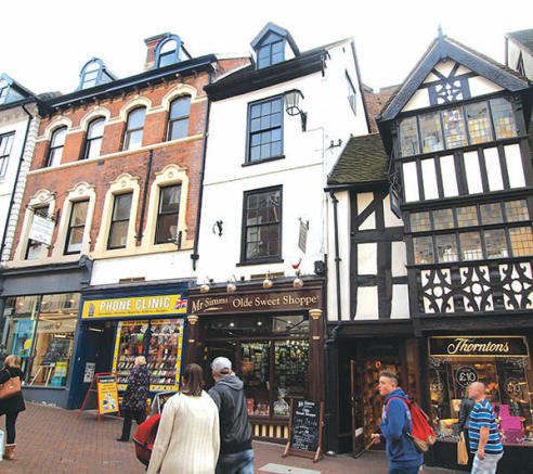Pride Hill Shrewsbury Commercial Property For Sale
