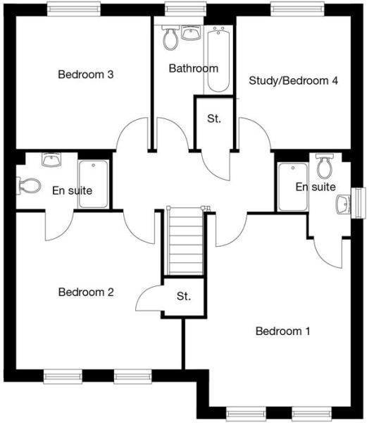 2D-Floorplan-The-Haddenham-FF-Bowbrook-Brochure