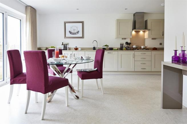Kitchen-dining room - TMP TW Bowbrook Aug 2016 2323