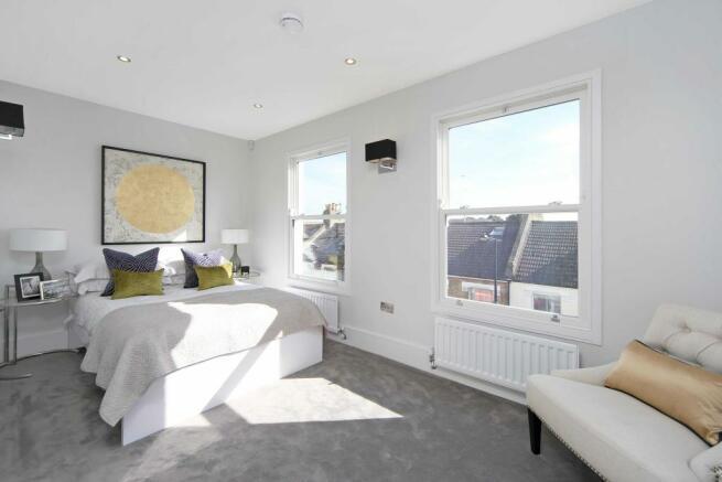 Penthouse (showflat) bedroom