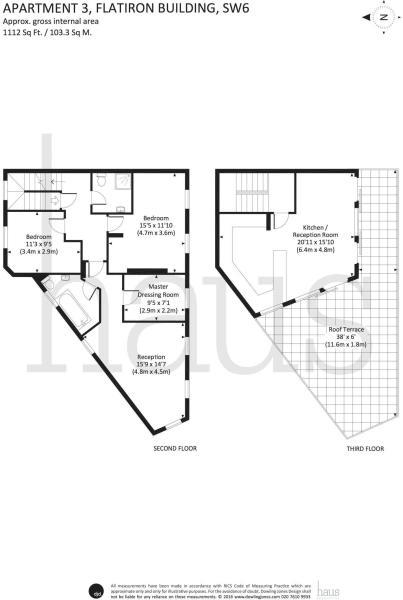 Flatiron Penthouse Floorplan
