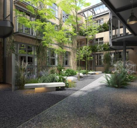 Main Courtyard-CGI