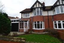 semi detached house in The Grove, Whitley Bay