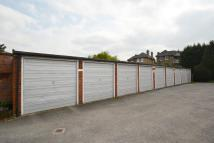 Garage in Oak Hill Crescent...