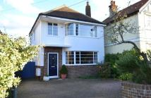 Detached house in St Swithins Road...