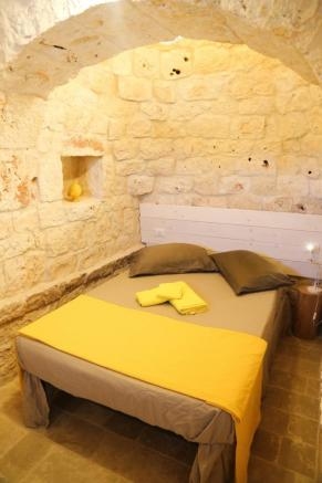 Master bedroom in trullo